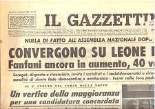 M5 IL GAZZETTINO anno 78 n. 289 del 20 dicembre 1964