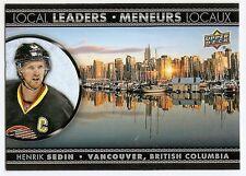 16/17 UPPER DECK TIM HORTONS LOCAL LEADERS Hockey (#LL1-LL7) U-Pick from List