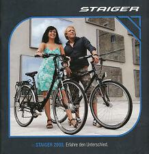 Staiger Fahrrad-Prospekt 2008 brochure bicycles prospectus vélo