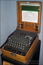 Poster, Many Sizes; Enigma Machine