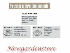 Frizione disco compatibile EUROGARDEN motocoltivatore titano caimano 15617 15616