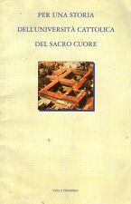 G7 Per una storia dell'università cattolica del Sacro Cuore 1997