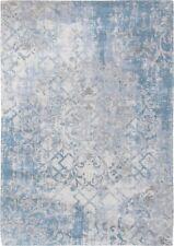 Fading World Babylon 8545 ALHAMBRA Louis de Poortere Blue Modern Distressed Rugs