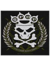 Aufnäher Five Fingers Death Punch Knuckles Crown 10 x 10 cm