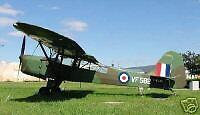 Mk-3 MK-III Auster AOP Airplane Desktop Kiln Dry Wood Model Large Free Shipping