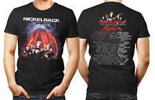 Nickelback alimentar la máquina Tour 2018 Unisex Camiseta Mujeres Hombres Banda De Música EU UK