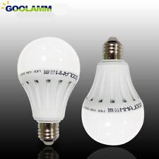 Imitación de cerámica Super Brillante E27 B22 3W 9W 12W 15W LED Luz Bombilla Lámpara