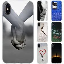 dessana Liebe TPU Silikon Schutz Hülle Case Handy Tasche Cover für Apple