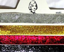 Elegant Glitter Fabric choker Collar 90's festival boho/grunge/vintage necklace