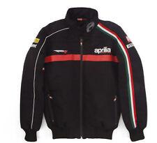 New Official Aprilia Team Black Puffy Coat
