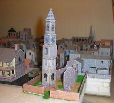 Bluecoat House, Bath,  Clocktower -  Card Kit - HO/OO and N Gauge.