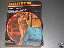 SAM DURELL: MISSIONE SIGRID - E.S.AARONS - SEGRET.N.271