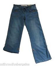 New Womens Blue NEXT Crop Jeans Size 12 10 8 6 Regular Petite