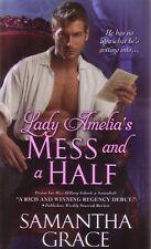 Samantha Grace  Lady Amelia's Mess And A Half   Historical Romance   Pbk NEW