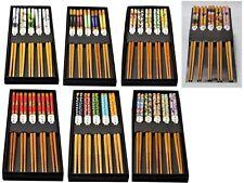 stäbchen Chopsticks 5 Paar Eßstäbchen Bambus Japan Chinesisch