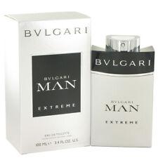 Bvlgari Man Extreme Cologne Perfume Men's 1.7 3.4 oz Eau de Toilette Spray New