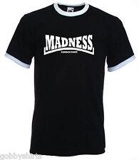 SKA Mens Ringer Tees, Slim Fit, Madness, SKA, 2Tone, Dance Craze, Small to 3xl