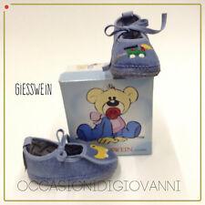 neonato bambino/a pantofole Giesswein carrozzina prime scarpe babbucce IN SALDO