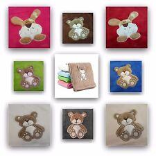Babydecke PLÜSCH Kucheldecke Schmusedecke Baby Kinder Decke 76 x 100 cm