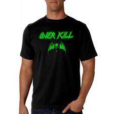 Camiseta hombre OVERKILL T shirt men hard rock heavy thrash metal metalhead