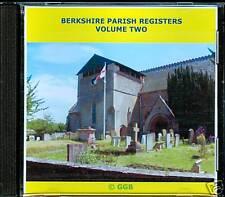 BERKSHIRE MARRIAGE REGISTERS VOLUME  II CD ROM