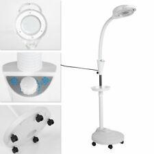 LED Cold Light 360° Adjustable 8X Magnifying Floor Stand Lamp Tattoo Light Salon