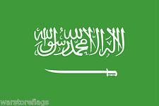 SAUDI ARABIA FLAG arab arabic Riyadh Mecca Medina CHOOSE YOUR SIZE