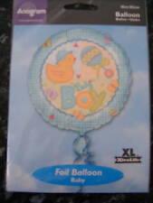 Brand New Anagram Baby Boy Foil 18 Inch Balloon
