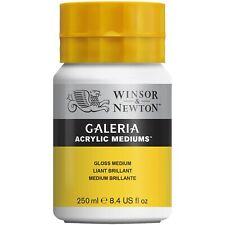 Winsor & Newton Galeria MATT or GLOSS Medium 250ml for Artists Acrylic Painting