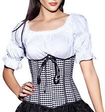 Unter Brust Taillen Corsage + Dirndl Bluse Top Shirt Mieder Corset  Wäschebeutel