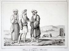 Persien Iran Bootsmänner Buschehr 1841 Bushehr Fischer fishermen pêcheurs Perse