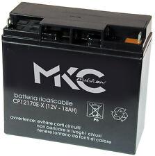 Batteria al piombo MKC  12V - 18Ah