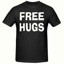 FREE HUGS T SHIRT, FUNNY NOVELTY MEN'S T SHIRT,SM-2XL,