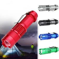 Q5 LED Flashlight Torch 3500 LM 3 Modes Adjustable Focus Capming Lantern ED