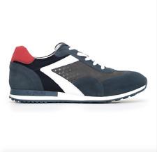 sneakers uomo nero giardini 800241 in camoscio sportivo classica comoda