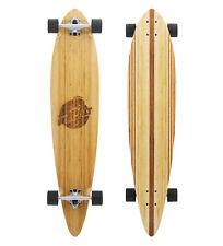 Two Bare Feet 'Chuck' 44in Pintail Bamboo Premium Longboard Skateboard