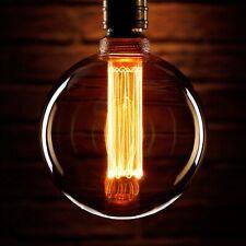 Auraglow Mysa LED Light Bulb Vintage Retro Edison Decorative E27 G125 Globe