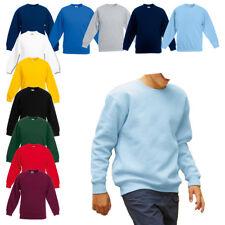 NEU - Fruit of the Loom - Premium Set-In Sweat Kids - Kinder Sweatshirt Pullover