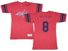 Reebok Alex Ovechkin #8 Washington Capitals NHL Youth Girls 7-16 Jersey T-Shirt
