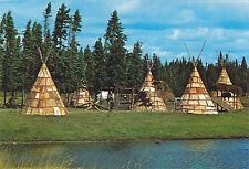 Reconstitution du Village Indien Jardin Zoologique ST FÉLICIEN Quebec Canada