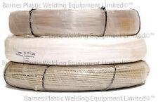 2kg Coil Plastic Welding Rod 3mm-4mm Round 5.7mm Triangular-PP-HDPE-uPVC Repairs