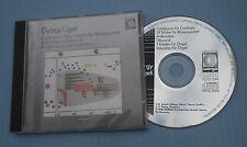 CONTINUUM/ZEHN STUCKE FUR BLASERQUINTETT/ARTIKULATION... -1 CD - G. LIGETI -(H8)