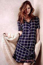 New Anthropologie Breton Gauze Dress by Dolan size L, Flattering cute Super-RARE
