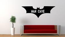 Man Cave Batman Emblem Wall Art Decal Sticker SU14