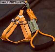 Medium Large Dog lead leash strong rope&Harness combo set- Adjustable (1.2m)