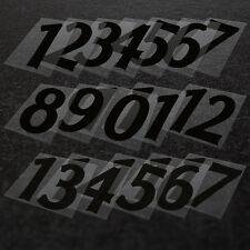 FERRO-SU NUMERI DI KIT DI CALCIO-COMPLETO TEAM numeri 1-17 Stampa il tuo KIT
