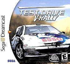 Test Drive V-Rally (Sega Dreamcast, 2000)