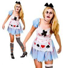 Zombie Alice in wonderland Disfraz LIBRO HISTORIA DISFRAZ MUJER