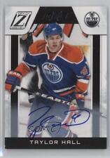2010 Zenith #216 Taylor Hall Edmonton Oilers Auto Autographed Rookie Hockey Card
