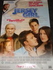 Jersey Girl Movie Promo Poster rolled Ben Affleck Liv Tyler George Carlin